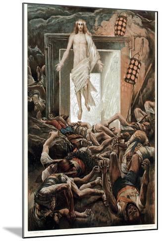 The Resurrection, C1890-James Jacques Joseph Tissot-Mounted Giclee Print