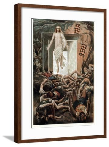 The Resurrection, C1890-James Jacques Joseph Tissot-Framed Art Print