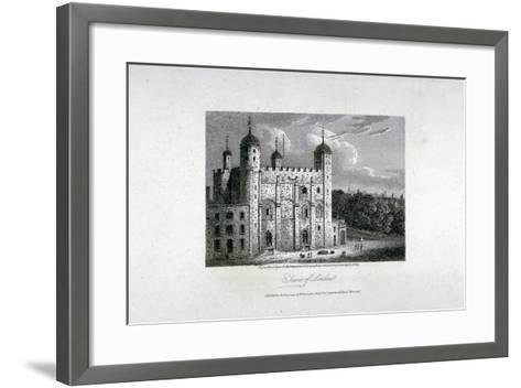 Tower of London, 1808-James Sargant Storer-Framed Art Print