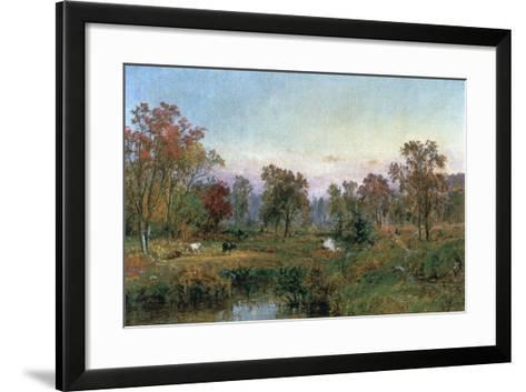Hastings-On-Hudson, 1885-Jasper Francis Cropsey-Framed Art Print