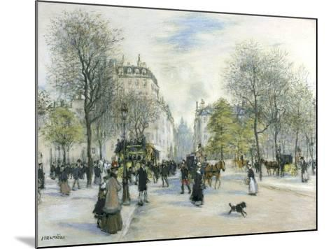 Paris, 1900-Jean Francois Raffaelli-Mounted Giclee Print