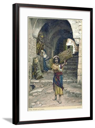 The Youth of Jesus, C1897-James Jacques Joseph Tissot-Framed Art Print