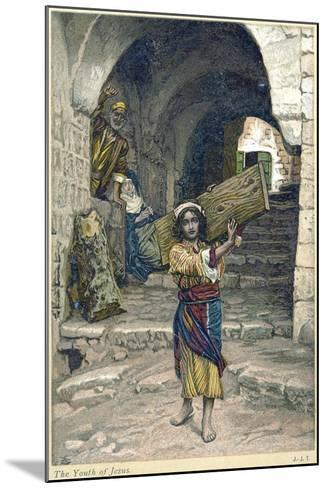The Youth of Jesus, C1897-James Jacques Joseph Tissot-Mounted Giclee Print
