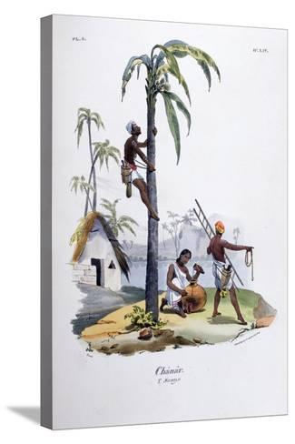 Chanar, 1828-Jean Henri Marlet-Stretched Canvas Print