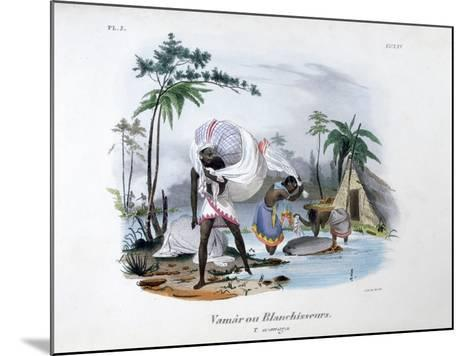 Launderers, 1828-Jean Henri Marlet-Mounted Giclee Print