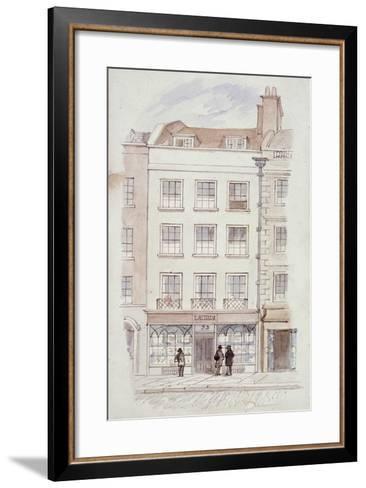 Laurie's Premises, Fleet Street, London, C1820-James Findlay-Framed Art Print