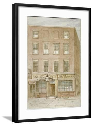 The Mitre Tavern, Coffee House and Hotel on Mitre Court, Fleet Street, City of London, 1850-James Findlay-Framed Art Print