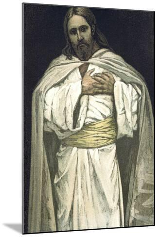 Our Lord Jesus Christ, C1897-James Jacques Joseph Tissot-Mounted Giclee Print