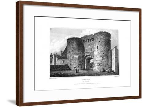 Land Gate, Rye, East Sussex, 1829-James Lambert-Framed Art Print