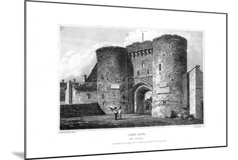 Land Gate, Rye, East Sussex, 1829-James Lambert-Mounted Giclee Print