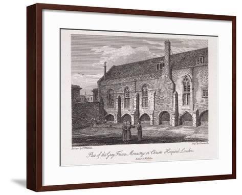 Christ's Hospital, London, 1812-James Lambert-Framed Art Print