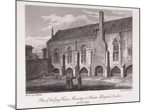 Christ's Hospital, London, 1812-James Lambert-Mounted Giclee Print