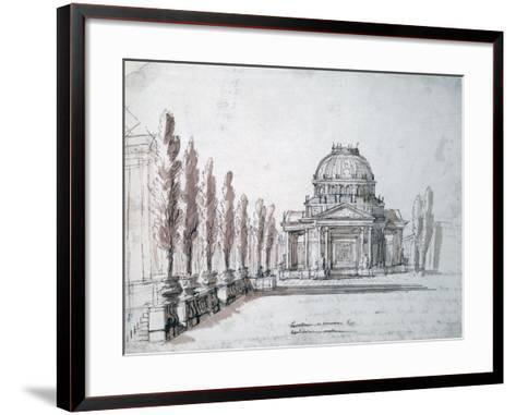Temple of Apollo, for the Opera Achille and Polyxene, C1687-Jean-Baptiste Lully-Framed Art Print