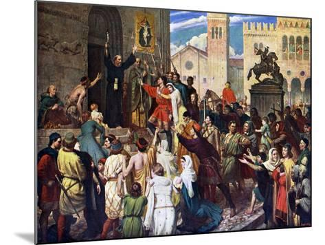 Peter the Hermit Preaching the First Crusade, 1926-James Archer-Mounted Giclee Print