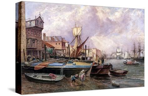 Horsleydown, Bermondsey, London, C1850-JJ Crew-Stretched Canvas Print