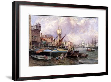 Horsleydown, Bermondsey, London, C1850-JJ Crew-Framed Art Print
