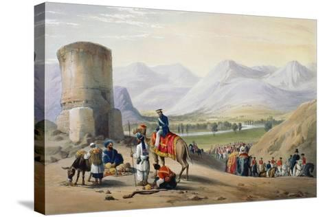 First Anglo-Afghan War 1838-1842-James Atkinson-Stretched Canvas Print