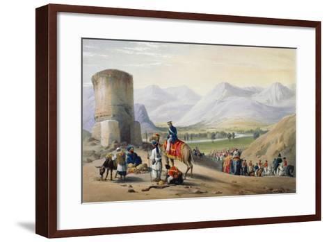 First Anglo-Afghan War 1838-1842-James Atkinson-Framed Art Print