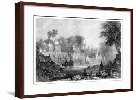 Shrine of Raiman Shah Doola, Elichpur-James Gardner-Framed Art Print