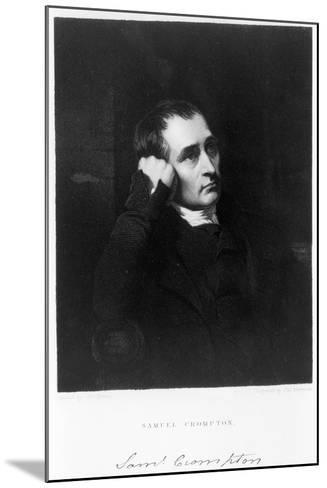 Samuel Crompton, English Inventor of the Spinning Mule, C1880S-James Morrison-Mounted Giclee Print