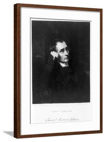 Samuel Crompton, English Inventor of the Spinning Mule, C1880S-James Morrison-Framed Art Print