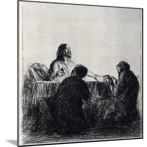 Breaking of the Bread, 1925-Jean Louis Forain-Mounted Giclee Print
