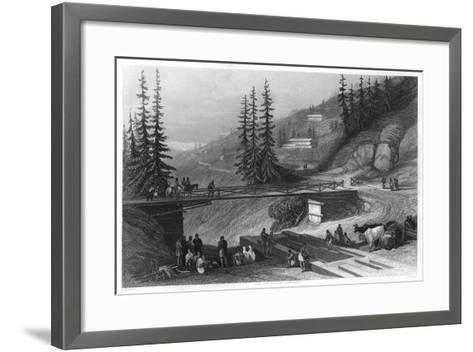 Simla, India, C1860-James B Allen-Framed Art Print