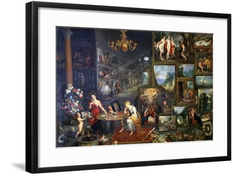 Allegory of Sight and Smell, C1590-1625-Jan Brueghel the Elder-Framed Art Print