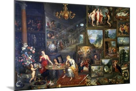 Allegory of Sight and Smell, C1590-1625-Jan Brueghel the Elder-Mounted Giclee Print