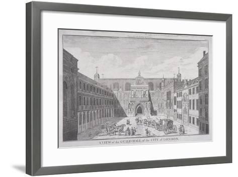 Guildhall, London, 1820-James B Allen-Framed Art Print