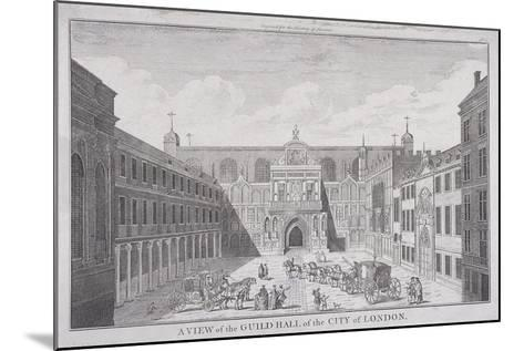 Guildhall, London, 1820-James B Allen-Mounted Giclee Print