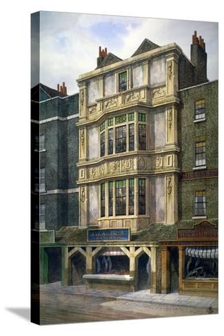 76 Aldgate High Street, London, C1860-JL Stewart-Stretched Canvas Print