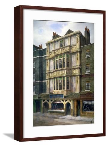 76 Aldgate High Street, London, C1860-JL Stewart-Framed Art Print