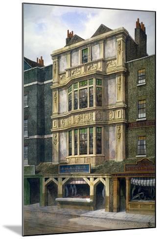 76 Aldgate High Street, London, C1860-JL Stewart-Mounted Giclee Print