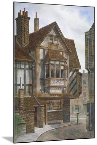 Houses in Bishopsgate, City of London, 1860-JL Stewart-Mounted Giclee Print