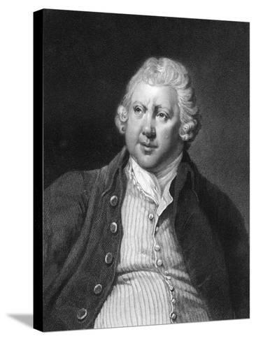 Richard Arkwright, 18th Century British Industrialist and Inventor-James Posselwhite-Stretched Canvas Print