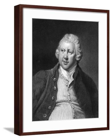 Richard Arkwright, 18th Century British Industrialist and Inventor-James Posselwhite-Framed Art Print