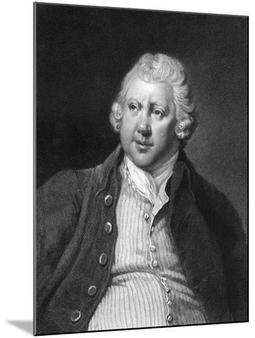 Richard Arkwright, 18th Century British Industrialist and Inventor-James Posselwhite-Mounted Giclee Print