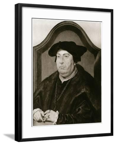 David of Burgundy-Jan Gossaert-Framed Art Print