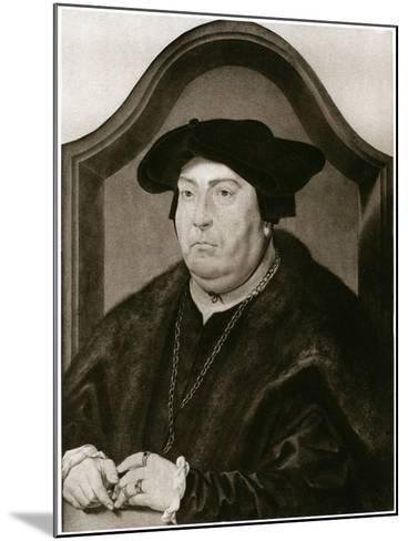 David of Burgundy-Jan Gossaert-Mounted Giclee Print