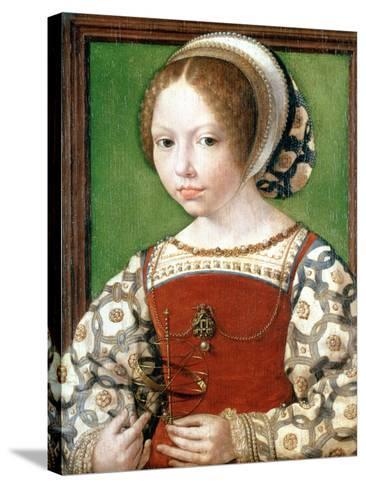 A Little Girl, C1520-Jan Gossaert-Stretched Canvas Print
