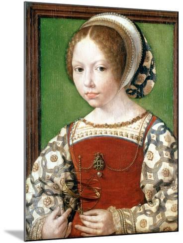 A Little Girl, C1520-Jan Gossaert-Mounted Giclee Print