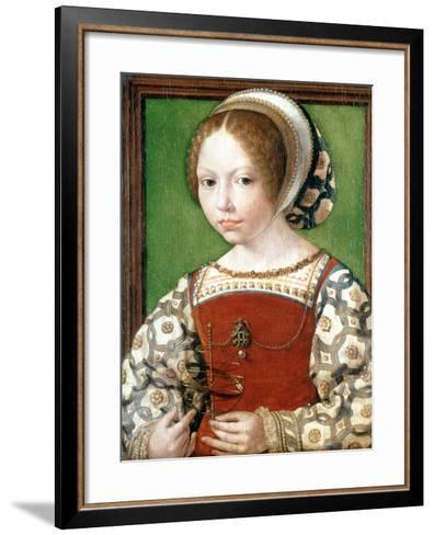A Little Girl, C1520-Jan Gossaert-Framed Art Print