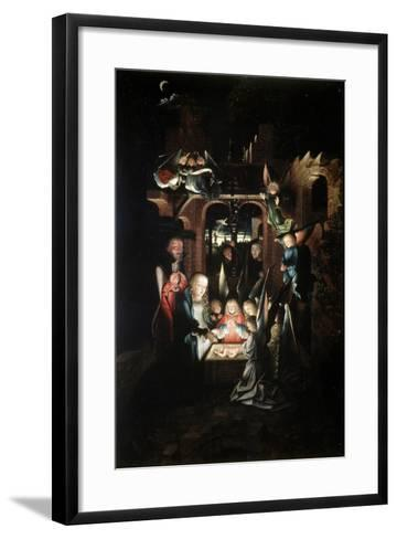 The Nativity of Christ (The Holy Night), Early 16th Century-Jan Joest-Framed Art Print