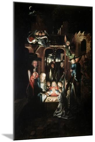 The Nativity of Christ (The Holy Night), Early 16th Century-Jan Joest-Mounted Giclee Print