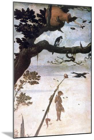 Landscape Scene, Legend of Saint Christopher, C1520-1559-Jan Mandyn-Mounted Giclee Print