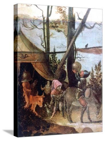Landscape Scene, Legend of Saint Christopher, C1520-1559-Jan Mandyn-Stretched Canvas Print