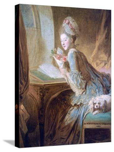 The Love Letter, C1770-Jean-Honore Fragonard-Stretched Canvas Print