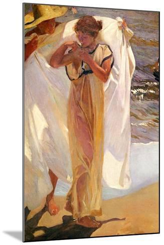After the Bath, 1908-Joaquin Sorolla y Bastida-Mounted Giclee Print