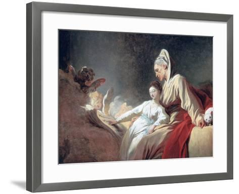 Education of the Virgin, C1773-Jean-Honore Fragonard-Framed Art Print